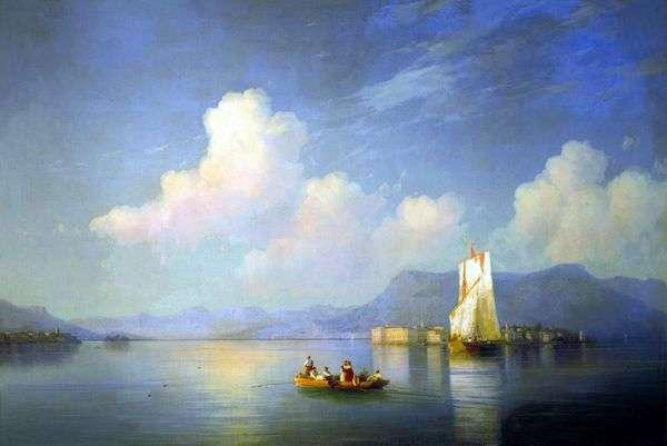 意大利风景。晚上   Ivan Aivazovsky