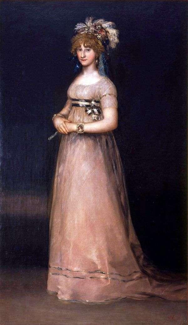 钦琼伯爵夫人的画像   弗朗西斯科德戈雅