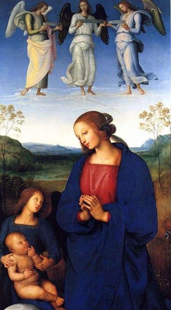 麦当娜,儿童和天使   Pietro di Christophero Vanucci Perugino