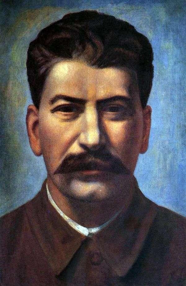 约瑟夫斯大林画象   Pavel Filonov