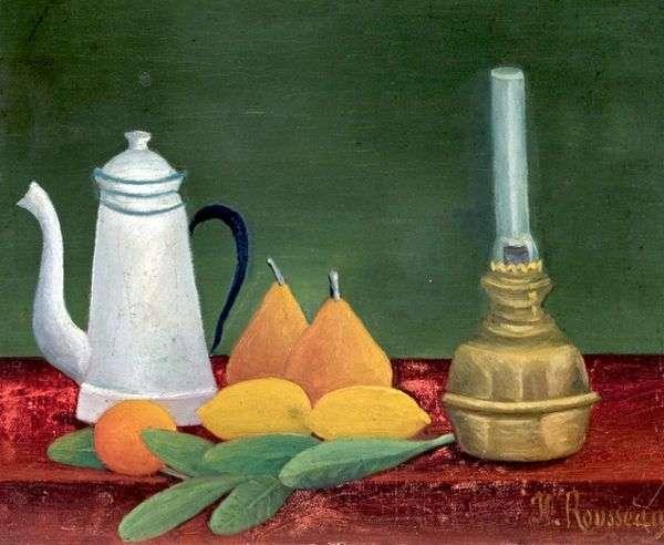 静物与咖啡壶   亨利卢梭