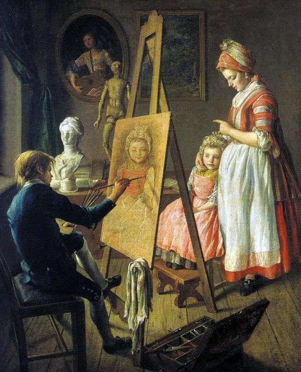 年轻的画家   伊万菲尔索夫