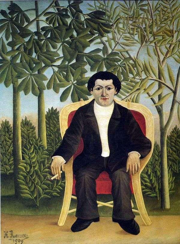 约瑟夫布拉默肖像   亨利卢梭