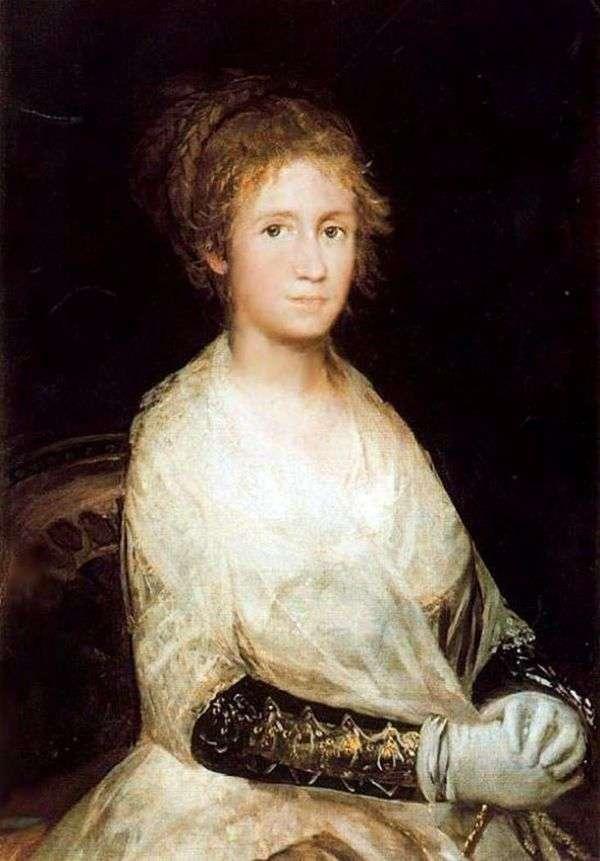 妻子的画象   Francisco de Goya