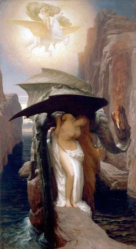 珀尔修斯和仙女座   弗雷德里克莱顿
