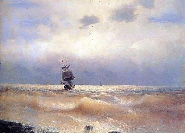 船在海岸   伊万Aivazovsky