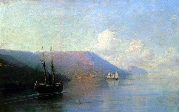 克里米亚半岛海岸   Ivan Aivazovsky