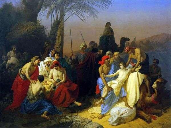 雅各布的孩子卖掉了他们的兄弟约瑟夫   康斯坦丁弗拉维茨基