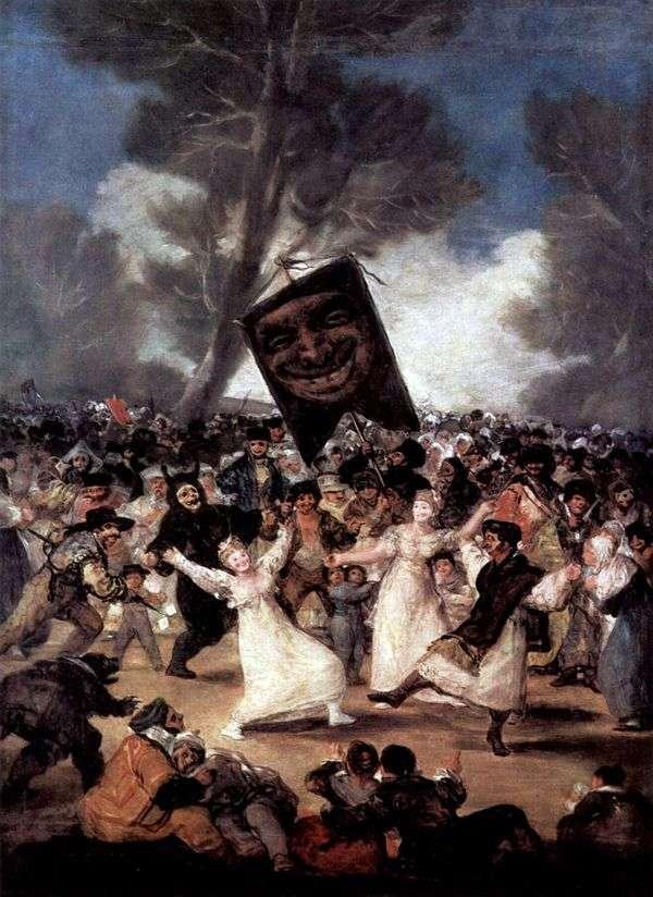 沙丁鱼葬礼   Francisco de Goya
