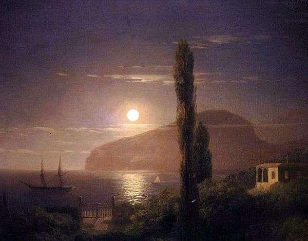克里米亚的月光之夜   Ivan Aivazovsky
