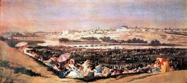 圣伊西德拉(罗马里亚)的盛宴   Francisco de Goya