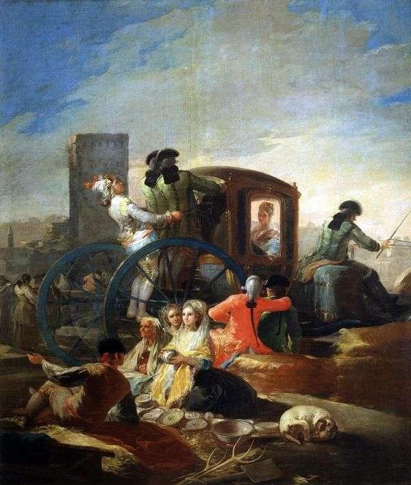 菜肴的卖家   Francisco de Goya
