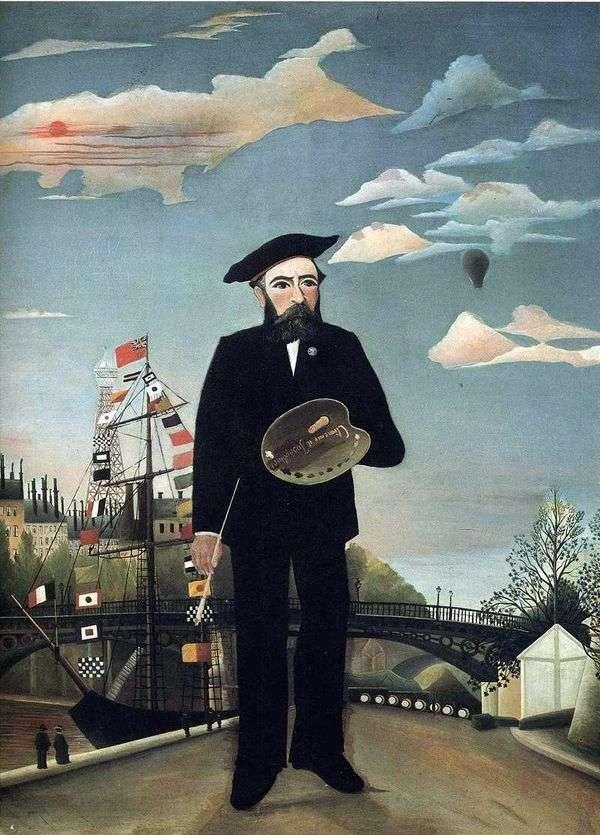我自己,肖像风景   亨利卢梭