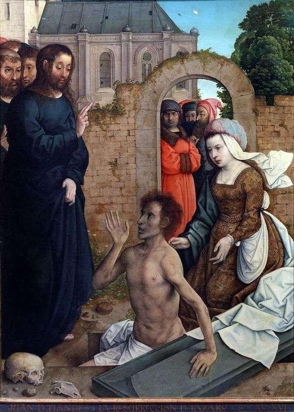 拉撒路的复活   胡安德弗拉德斯