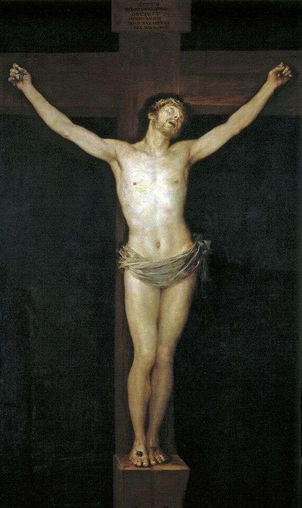 十字架上钉死   Francisco de Goya