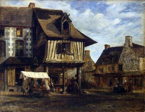 诺曼底市场   Theodore Rousseau