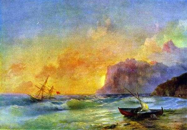 大海 Koktebel Bay   Ivan Aivazovsky