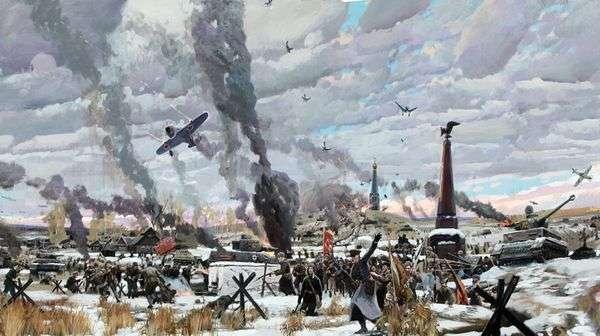 莫斯科之战   帕维尔Ryzhenko
