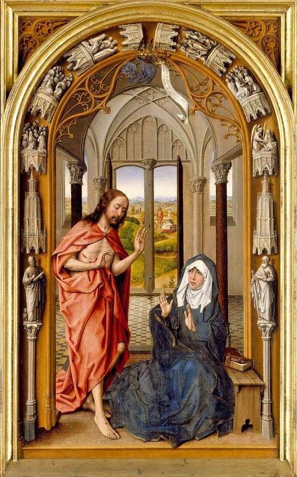 基督对玛丽的幻影   胡安德弗拉德斯
