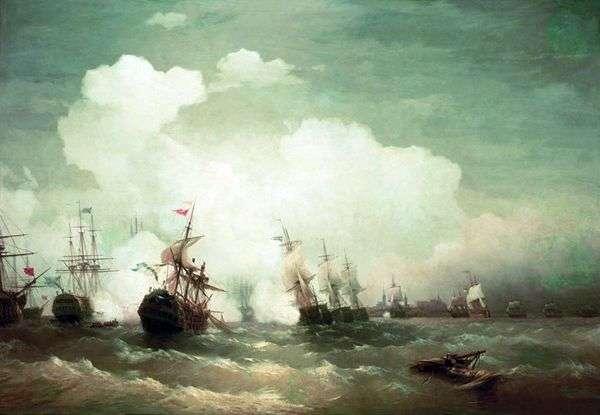 狂欢海军之战   伊万艾瓦佐夫斯基
