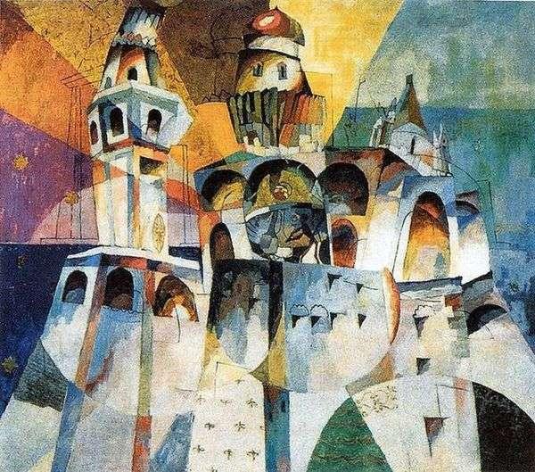 伊万伟大的钟楼   Aristarkh Lentulov