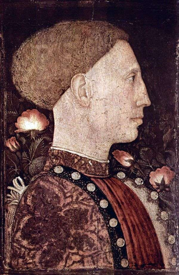 Leonello dEste   Antonio Pisanello的肖像