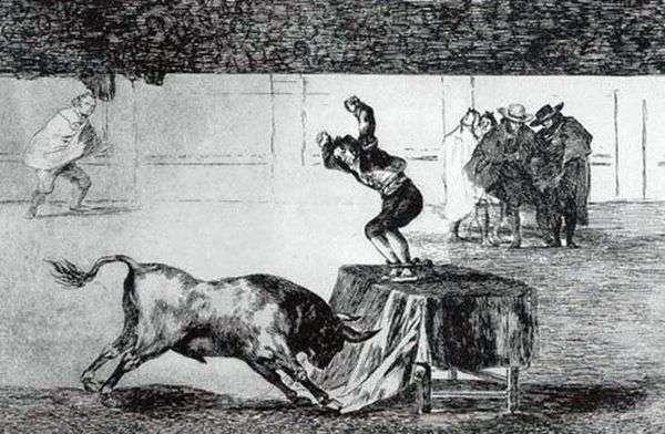 Tavromachia   Francisco de Goya