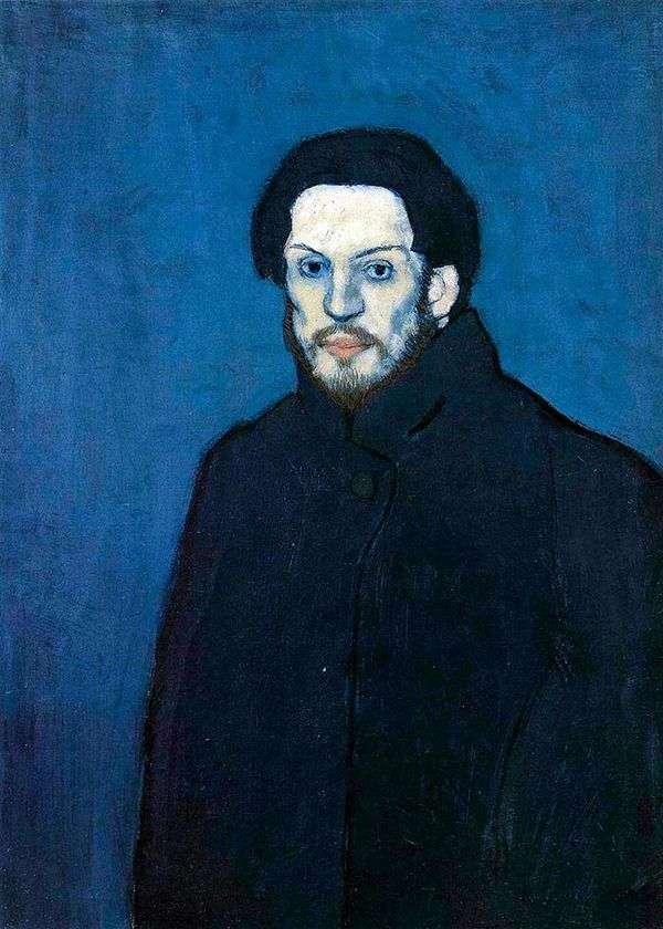 蓝色时期的自画像   巴勃罗毕加索
