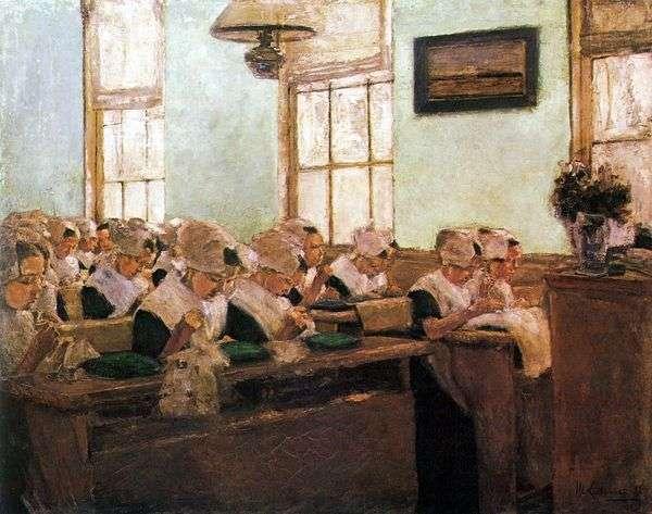 荷兰缝纫学校   马克斯利伯曼