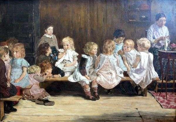 阿姆斯特丹的幼儿园   Max Lieberman