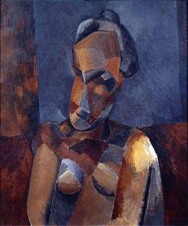 一个女人的半身像   巴勃罗毕加索