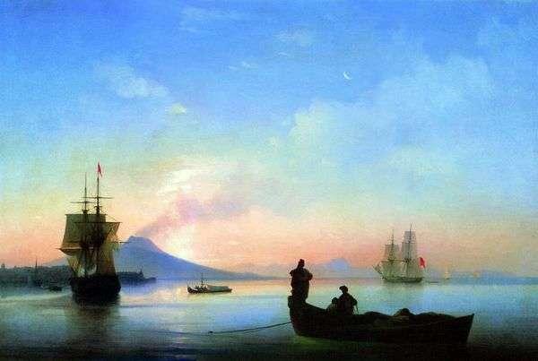 早上那不勒斯海湾   伊万艾瓦佐夫斯基