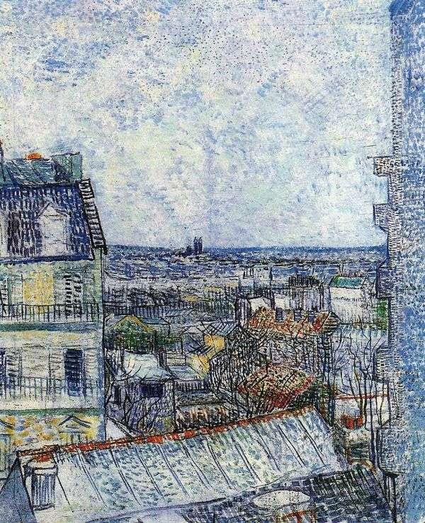 从文森特在Rue Lepic II的房间   Vincent Van Gogh看巴黎