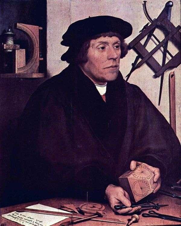 天文学家Nikola Kratzer   Hans Holbein
