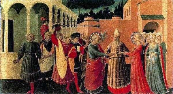 圣母玛利亚的婚姻   Angelico Fra
