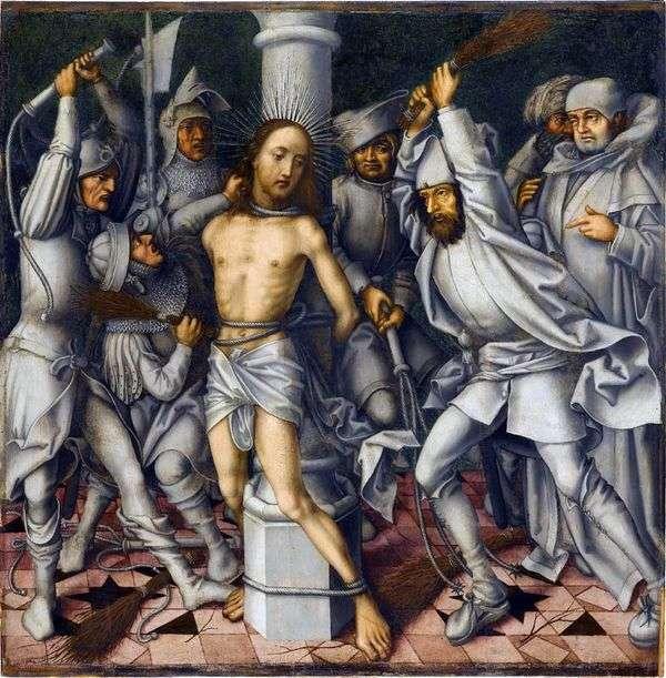 基督的鞭挞   汉斯霍尔宾