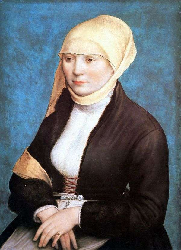 女人肖像   汉斯霍尔拜因