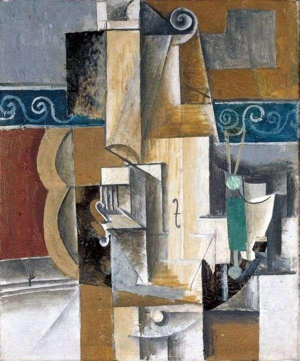 吉他和小提琴   Pablo Picasso