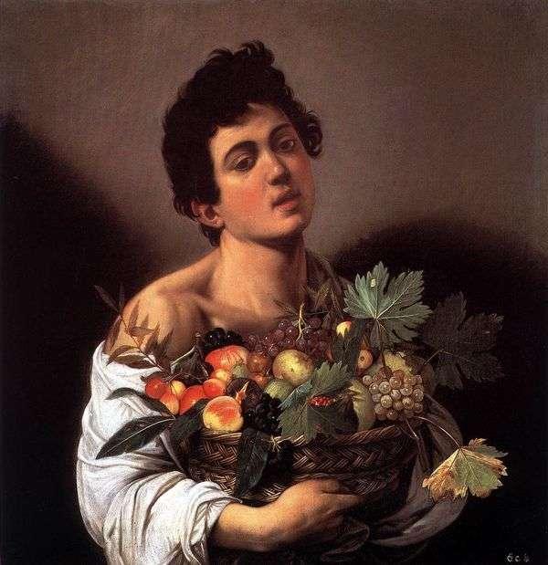 一篮子水果的男孩   米开朗基罗梅里西达卡拉瓦乔