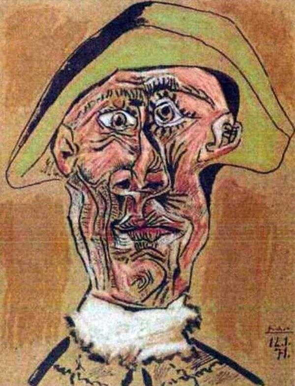 丑角头   巴勃罗毕加索