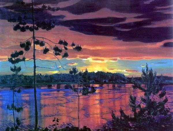 日落   Arkady Rylov