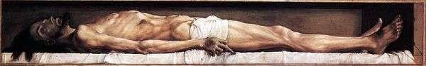 死去的基督   汉斯霍尔宾