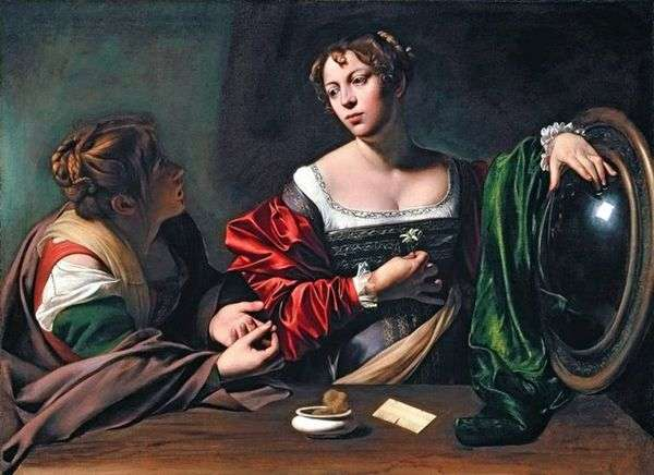 Martha和Mary Magdalene   Michelangelo Merisi da Caravaggio