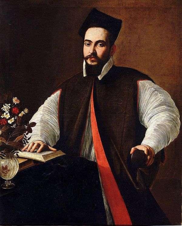 Maffeo Barberini,未来教皇Urban VIII   Michelangelo Merisi da Caravaggio