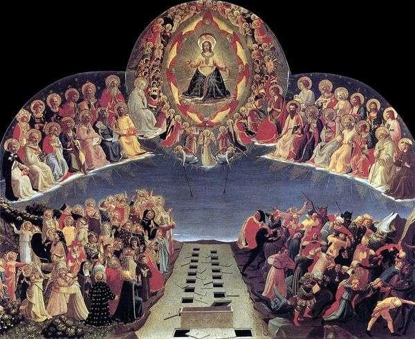 最后的审判   Angelico Fra