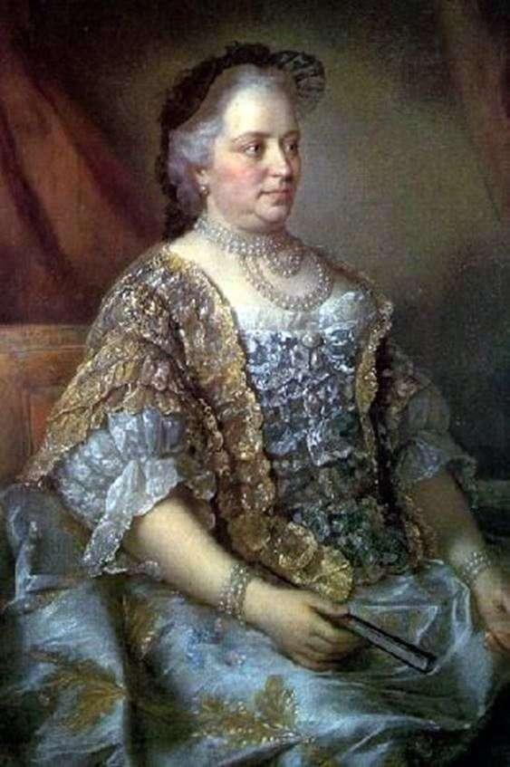 奥地利女皇玛丽亚 特蕾莎的肖像   Jean ÉtienneLiotard