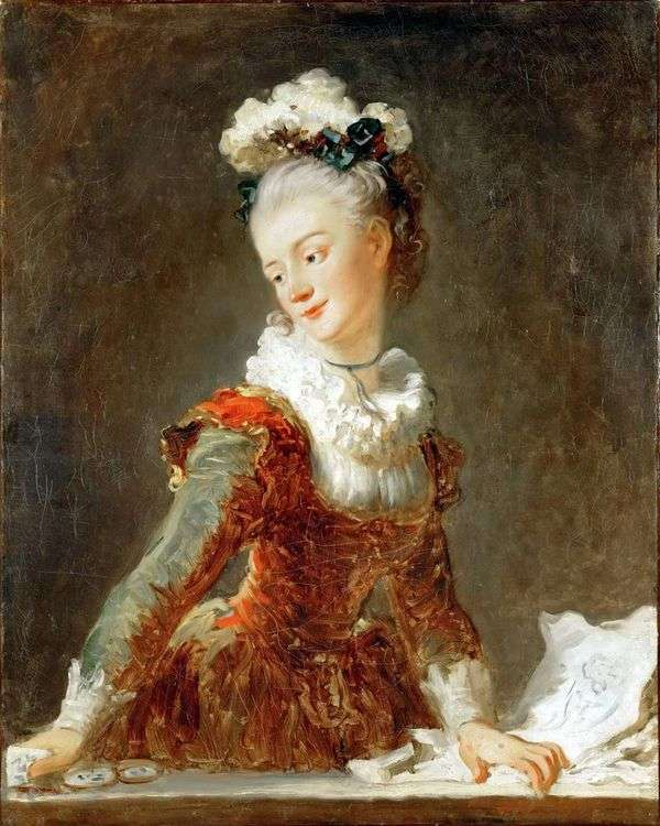 芭蕾舞女演员Marie Madeleine Huymar   Jean Honore Fragonard