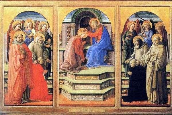 玛丽的王冠   Fra Filippo Lippi