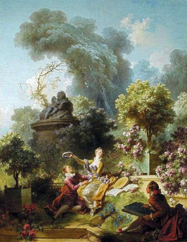 亲爱的花圈   Jean Honore Fragonard