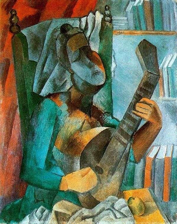 曼陀林   巴勃罗毕加索的女人